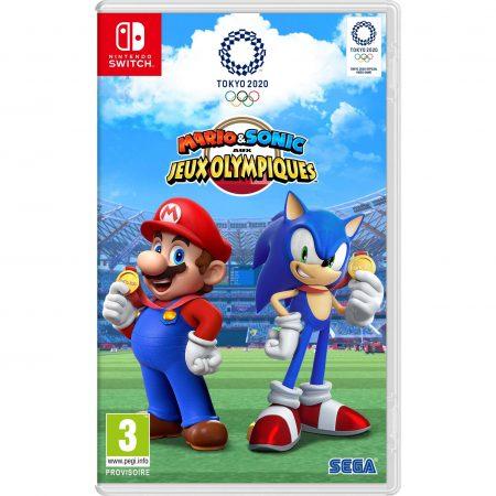 Jeu-Mario-Sonic-aux-jeux-Olympiques-de-Tokyo-2020-Nintendo switch maroc