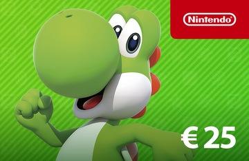 Nintendo-eShop-Card-25€-enjoyplanet-prix-maroc