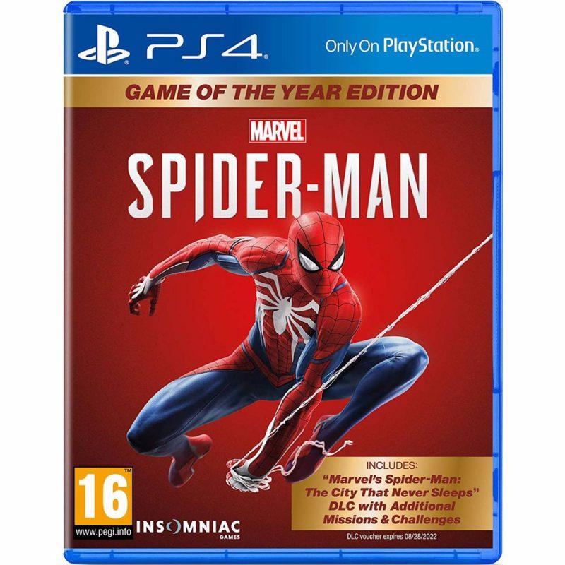 Spider man Ps4 sur ENJOY PLANET