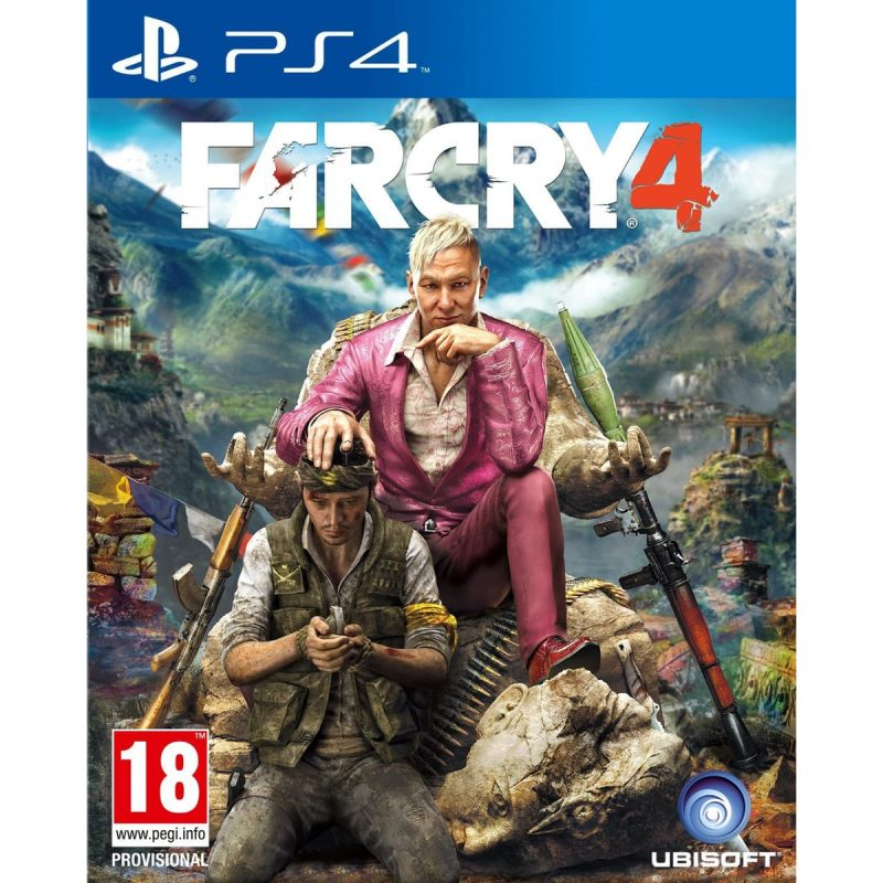 Far cry 4 Ps4 sur ENJOY PLANET