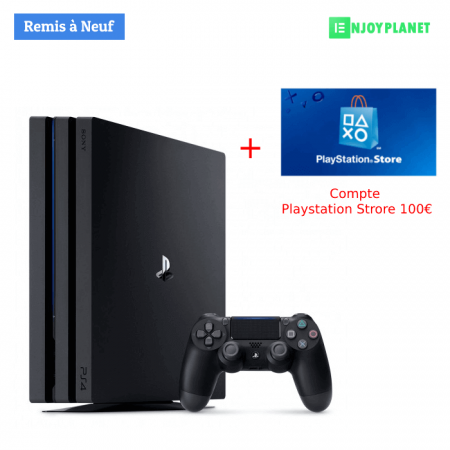 Console Ps4 Pro + compte sony with FIFA19 prix maroc sur enjoyplanet