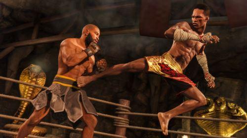 UFC 4 PS4.