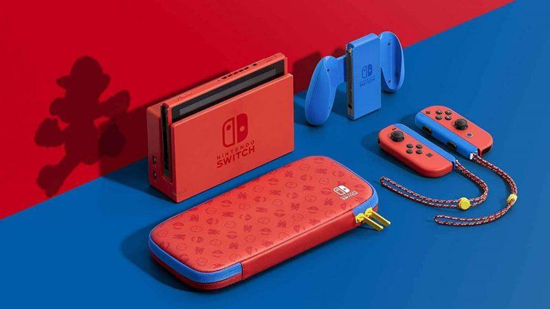 console nintendo switch edition mario prix maroc ENJOYPLANET