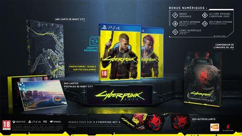 CYBERPUNK 2077 Edition Day One – PS4 Prix Maroc sur ENJOYPLANET