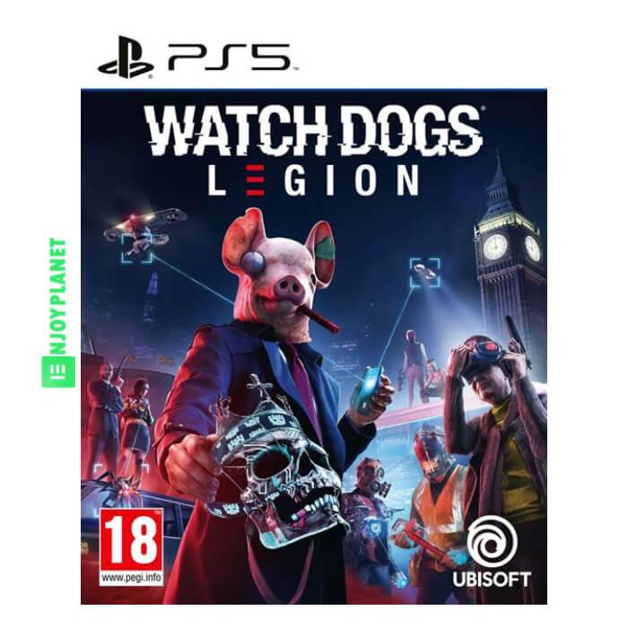 Watch Dogs Legion PS5 prix Maroc sur ENJOY PLANET