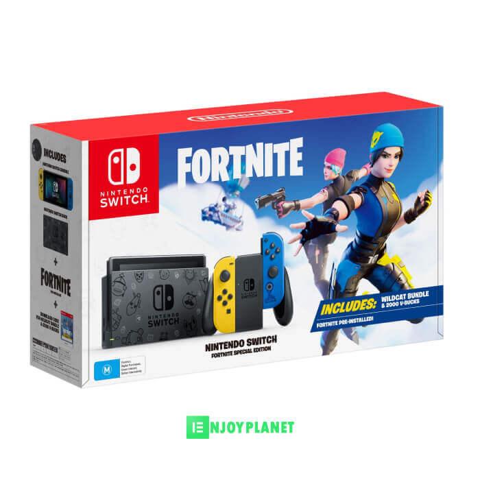Console Nintendo Switch Edition spéciale Fortnite prix maroc ENJOYPLANET