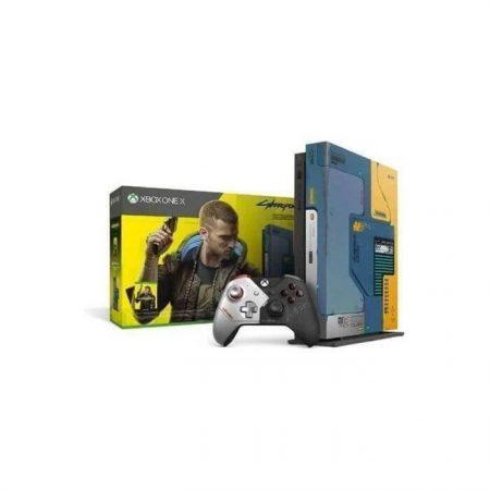 Console XBOX ONE X EditionCyberpunk 2077 Prix maroc ENJOYPLANET