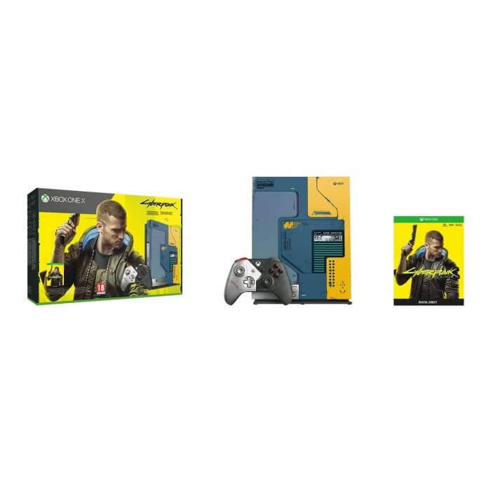 Console XBOX ONE X EditionCyberpunk 2077 Prix ENJOYPLANET