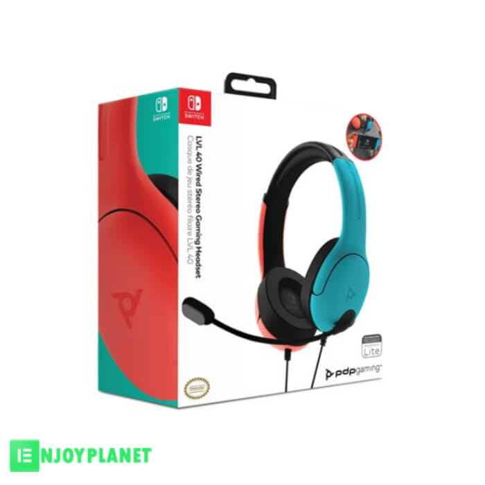 Casque filaire Gaming Nintendo switch prix maroc Enjoy planet