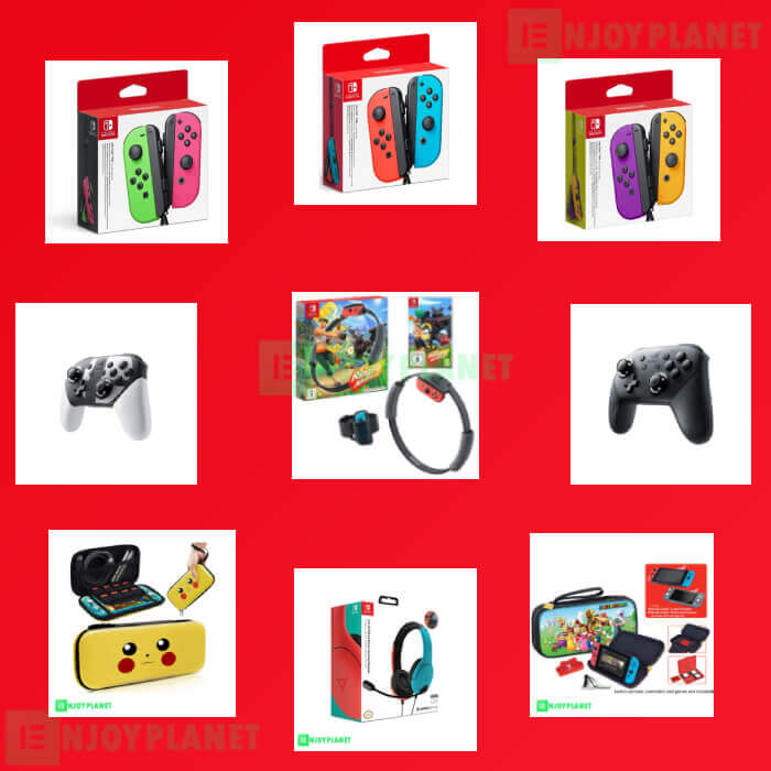 Accesoires Switch