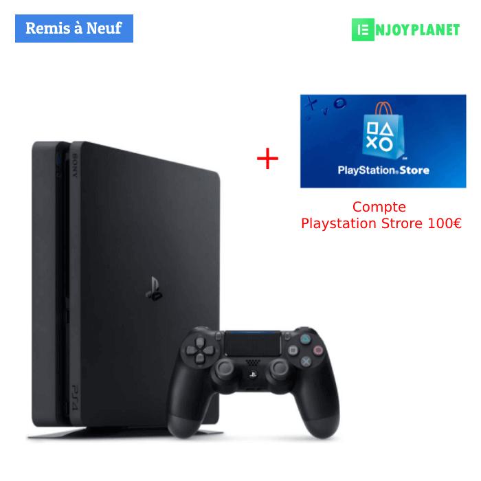 Console Ps4 slim 1to + PSN 100euro Prix Maroc