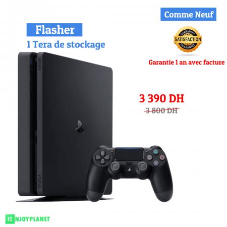 Ps4 consoles flashe prix maroc